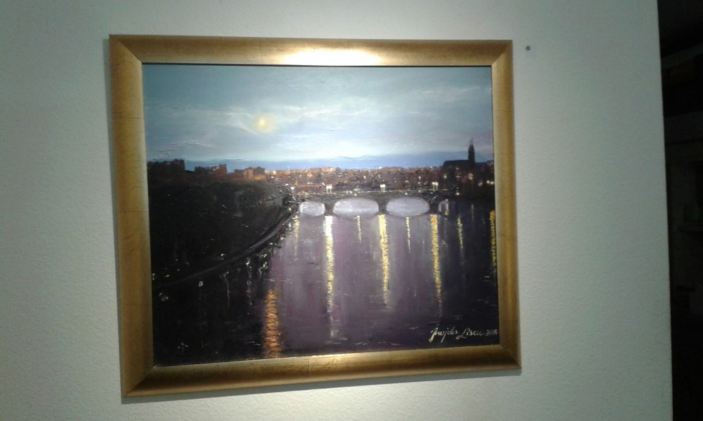 BASEL OIL PAINTING